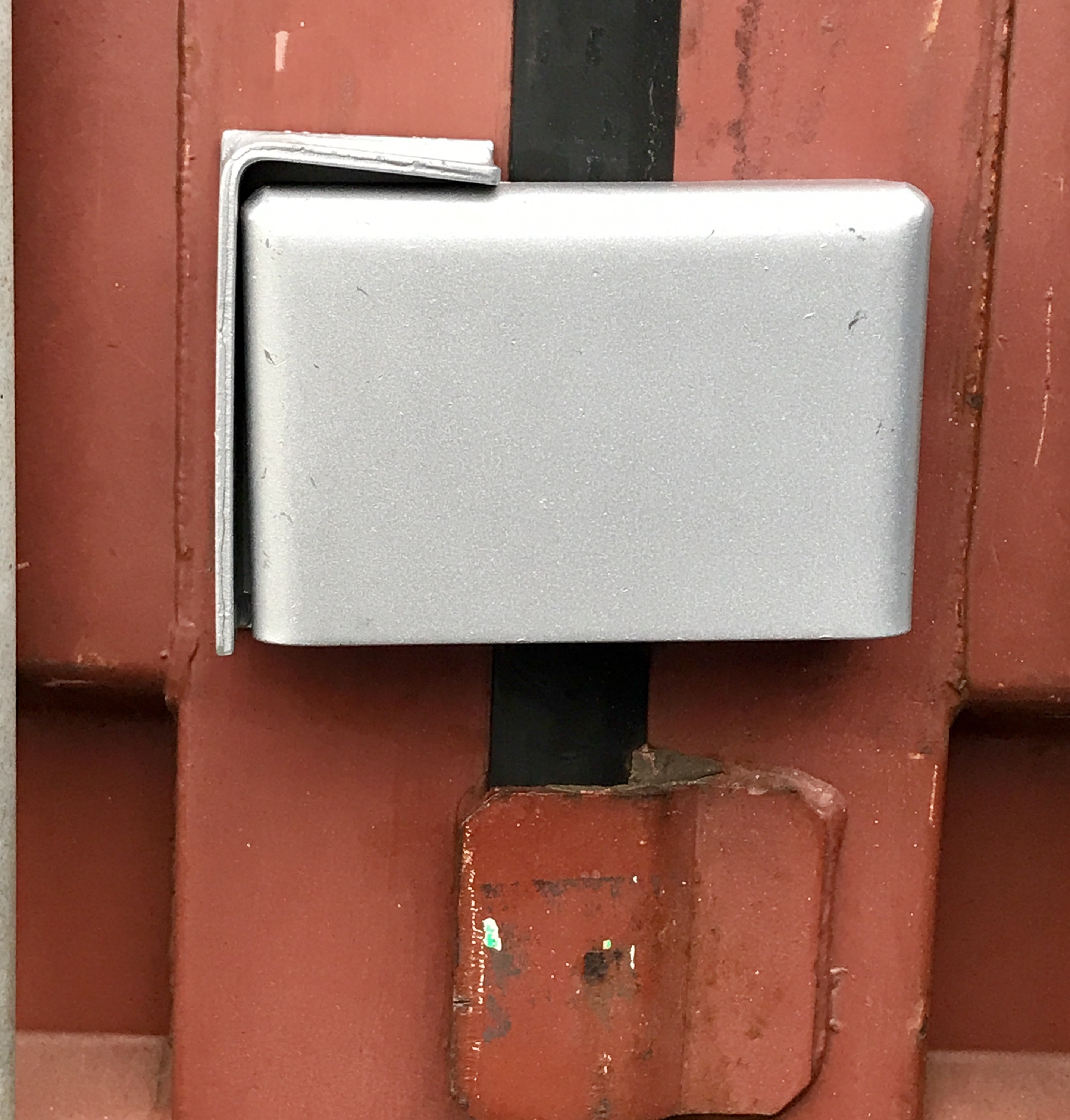 Bolt On Lockbox With Block Lock Independent Cargo Container